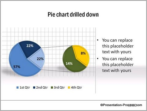 Pie Chart from CEO Pack with Grid Lines