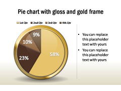 Pie charts Glossy
