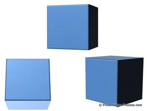 Tutorial To Create PowerPoint 3D Cube Easy