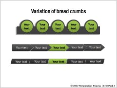 Variations of Breadcrumbs