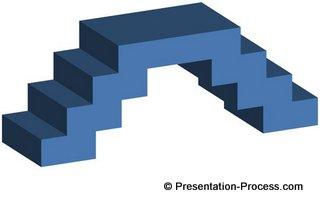 Create 3d bridge in powerpoint base 3d bridge diagram ccuart Gallery