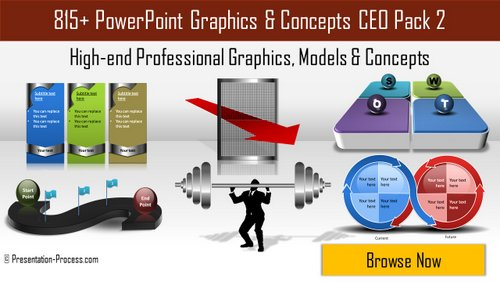 PowerPoint Graphics and Concepts CEO Pack 2