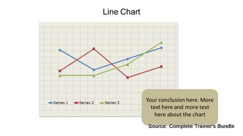 PowerPoint Data Chart Line