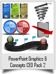 PowerPoint Graphics & Concepts CEO Pack 2