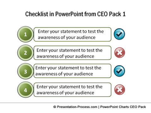 PowerPoint Checklist from CEO Pack 1