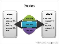 Powerpoint Comparison Template Presentation Process Creative Presentation Ideas
