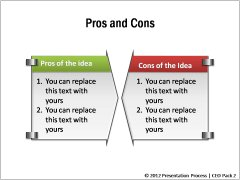 Pros and Cons Graphics