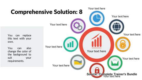 PowerPoint Comprehensive Solution Diagram