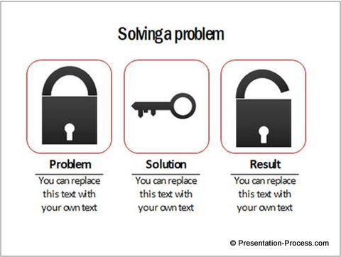 Useful Powerpoint Concepts Lock And Key Diagram
