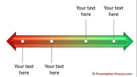 PowerPoint Continuum Graphic