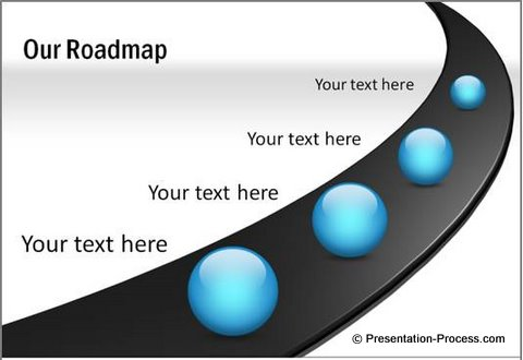 PowerPoint Diagram Template RoadMap