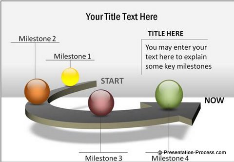 PowerPoint Diagram Template Timeline