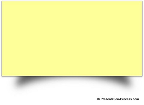 photograph relating to Editable Post It Note Template identify PowerPoint Impression towards Produce Sticky Take note