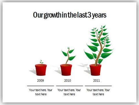 powerpoint growth tree