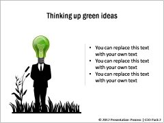 PowerPoint Concepts related to Green Ideas