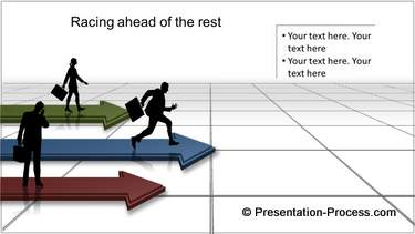 PowerPoint arrow charts