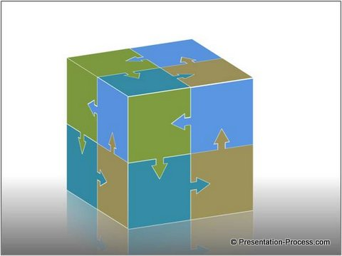 Easy powerpoint jigsaw puzzle cube tutorial toneelgroepblik Image collections