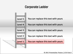Steps in Corporate Ladder