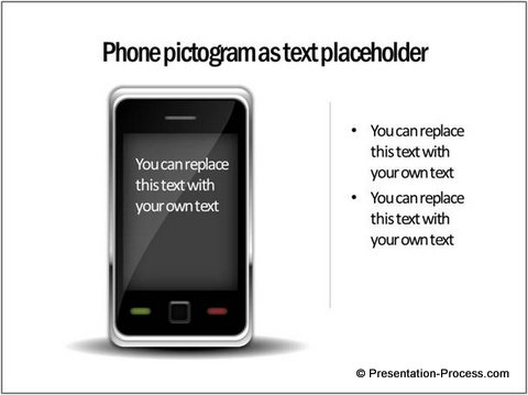 PowerPoint Pictogram Phone