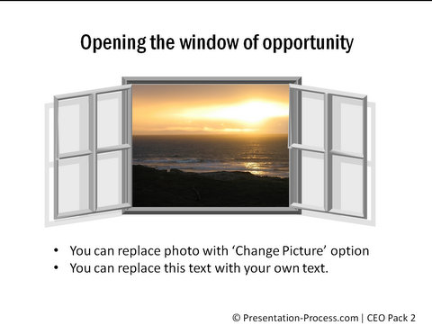 Window of opportunity from CEO pack 2