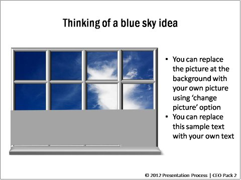Blue Sky Idea from CEO Pack 2