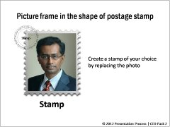 Picture Frame Stamp Style