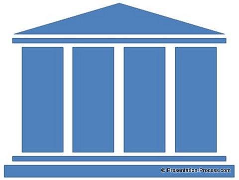 Four Pillars Clip Art