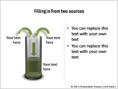 Filling from 2 Sources