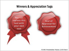 Awards and Appreciation Tags