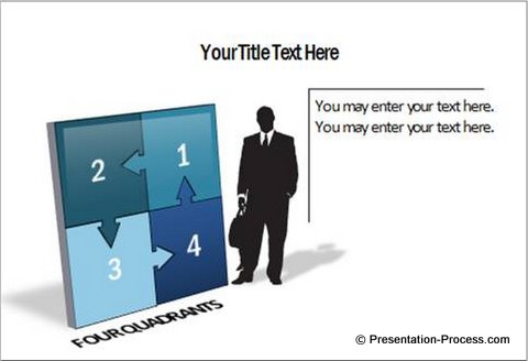 3d powerpoint puzzle diagram