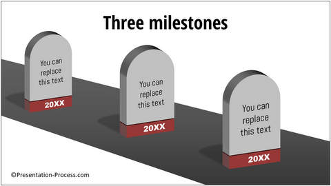 how to create a roadmap with milestones in powerpoint