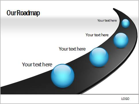 Create Roadmap in PowerPoint with Milestones – Free Roadmap Templates