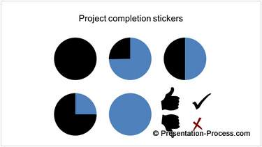 Project Completion Stickers