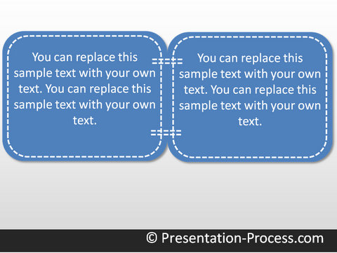 PowerPoint Stitch Effect