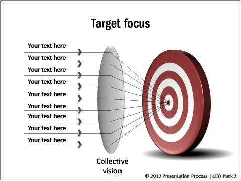 PowerPoint Target Templates - Focus