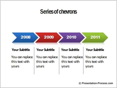 5 Creative Powerpoint Timeline Ideas