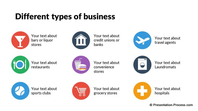 Types of Business Icons