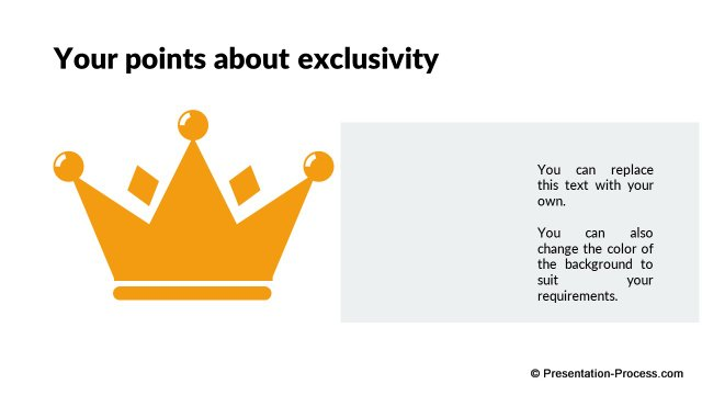 Points about Exclusivity