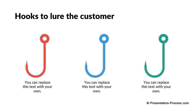 Hooks to lure customers