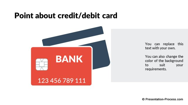 Credit or Debit card Info