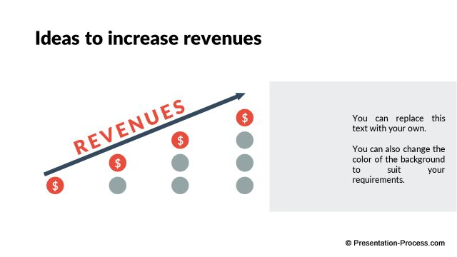Increasing revenues Ideas