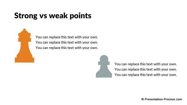 flat design templates  powerpoint game metaphors
