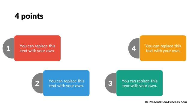 Flat Design Templates: PowerPoint List