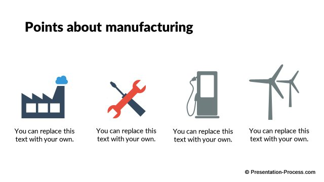 Points about Manufacturing