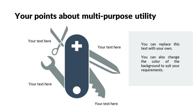 Multi-purpose Swiss knife
