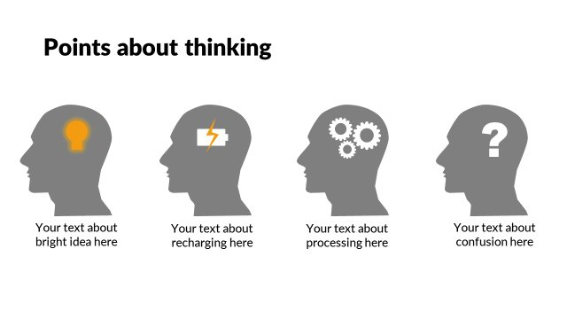 Points about thinking