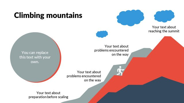 Climbing mountains