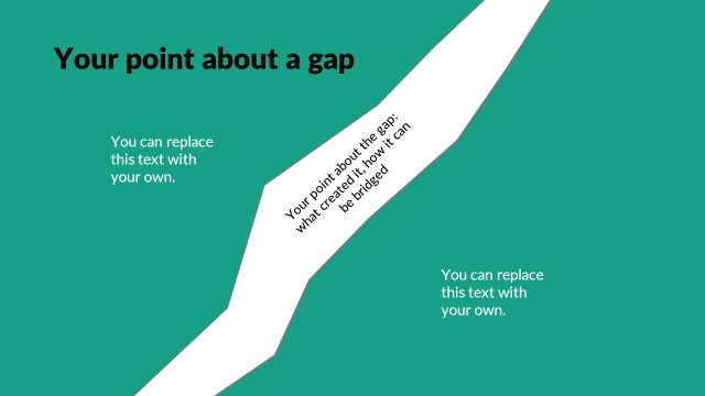 Gap metaphor