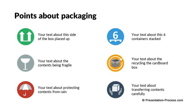 Points about Packaging
