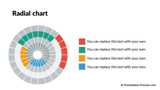 Flat Design Templates  Powerpoint Circle
